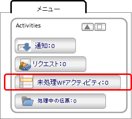 Web-UIのActivitiesガジェット
