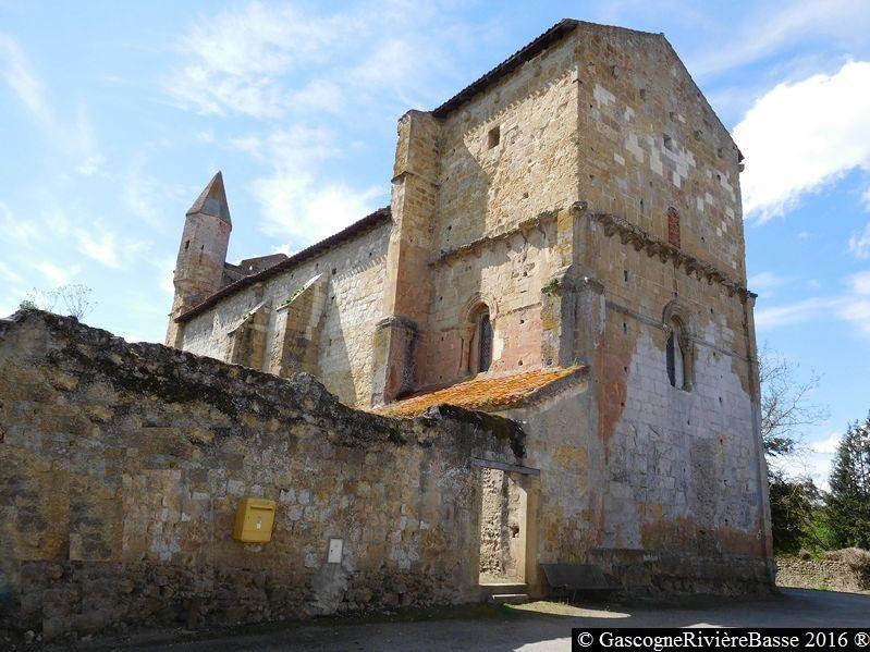 Mazères Eglise Castelnau Rivière-Basse