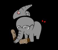 Toyan Line Sticker Toyanラインスタンプ human elephant Line Sticker ヒューマン象のラインスタンプLINE CREATORS MARKET ラインクリエイターズマーケット LINE STORE