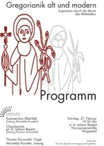 Plakat Gregoranik