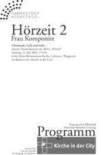 Plakat Hörzeit 2