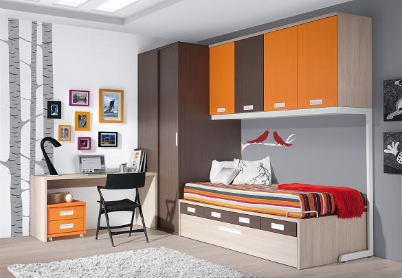 Dormitorios juveniles en guadalajara infantiles camas for Dormitorios juveniles baratos sin armario