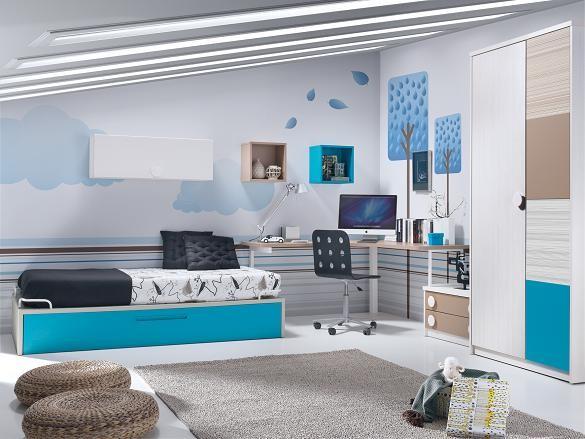 23% descuento en dormitorios juveniles medidas especiales