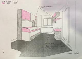 dormitorio montado en alcala de henares canape polipiel abatible lateral armario y sinfomier a juego colchon de muelle ensacado visco