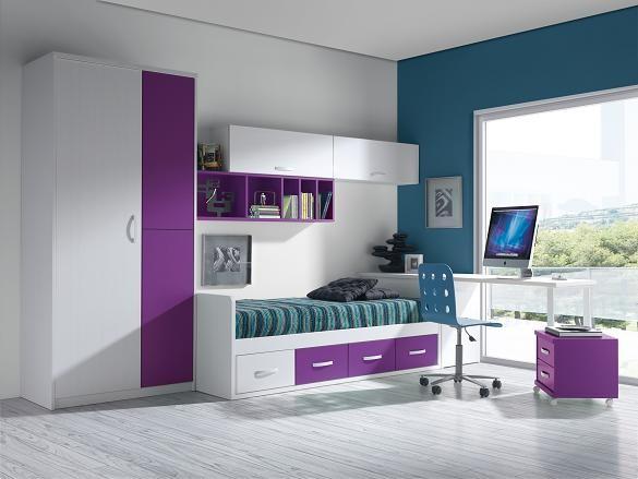 Dormitorios juveniles en guadalajara infantiles camas compactas nido cajones guadalajara alcala - Dormitorios juveniles chica ...