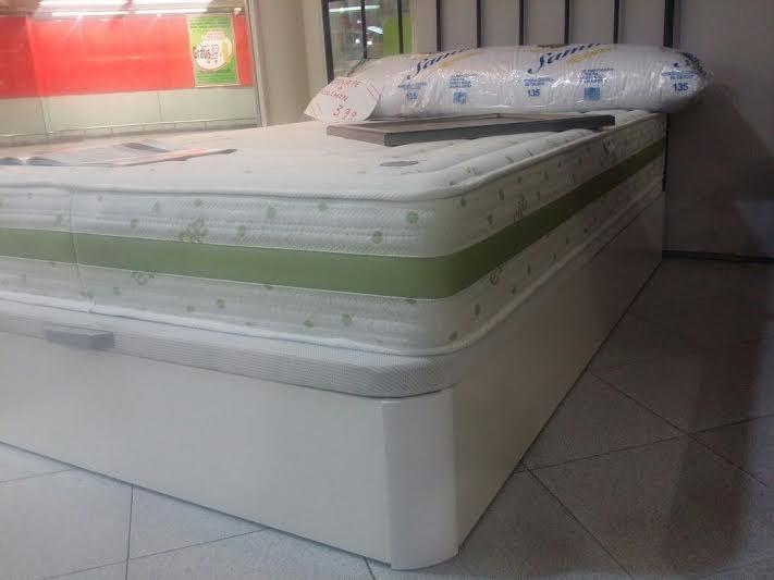 conjunto canape y colchon viscolatica 135*190  solo 499€