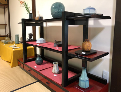 多古焼展|2018宮崎邸04