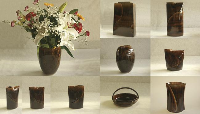 陶芸品|飴釉