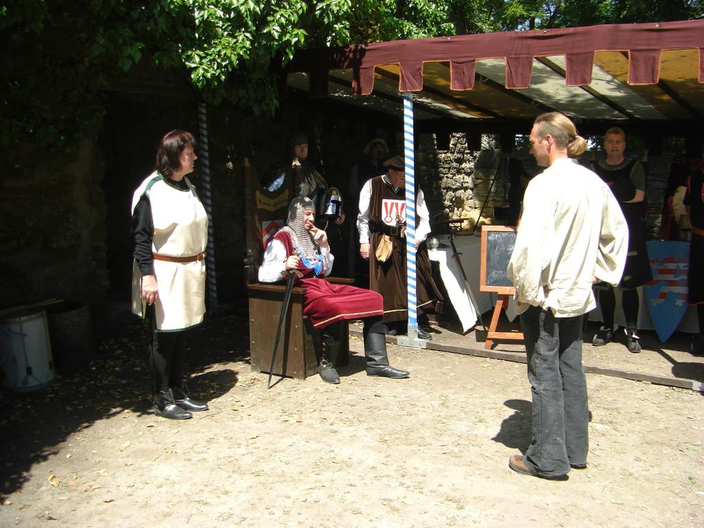 Burgfest Eckartsberga 2009