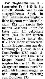 Pressebericht Kreiszeitung