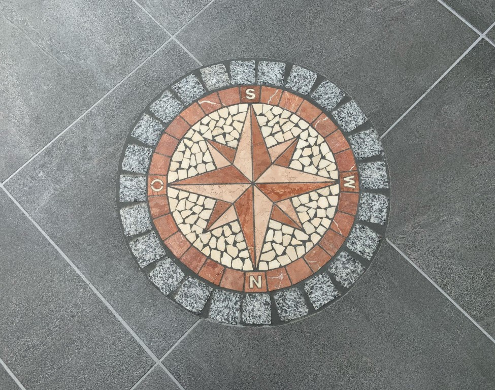 Ornament Kompass