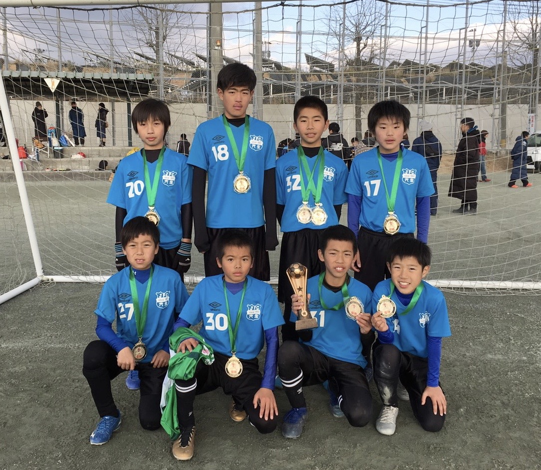 2020/1/13 U-12立岩サイレントカップ 優勝!