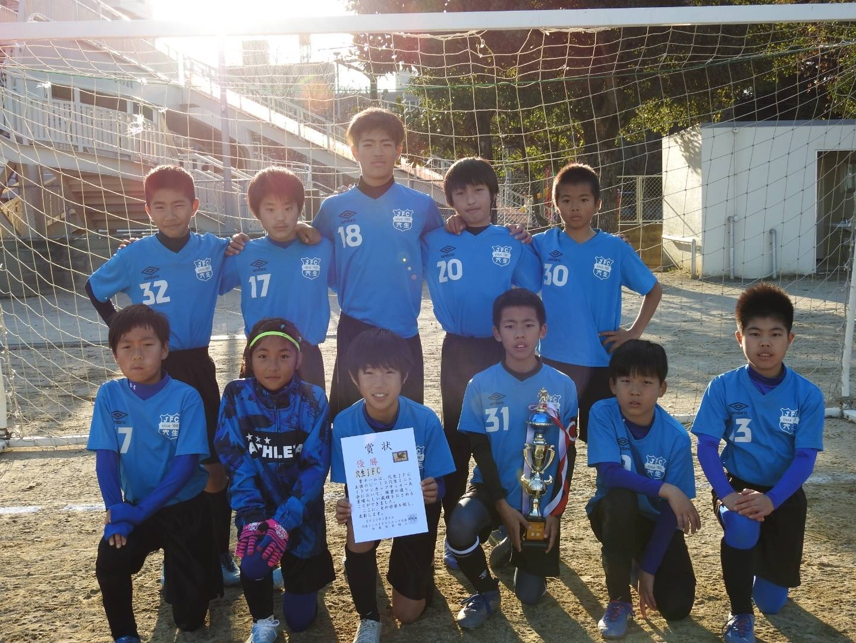 2020/1/4 U-12穴生ミニエイトマンカップ   優勝!