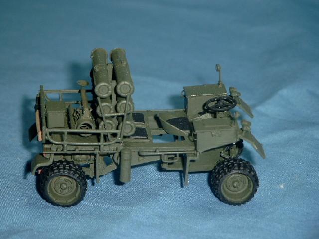 Kraka Luftlandefahrzeug als Munitionsträger für TOW der Bundeswehr