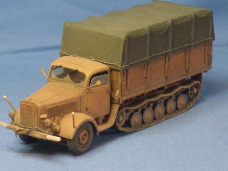 Mercedes Maultier 4,5t Deutsche Wehrmacht