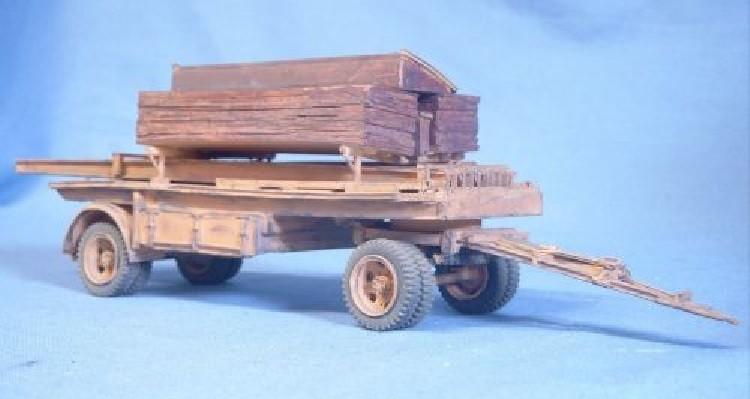 Rampenwagen Pionierfahrzeug 12 B-Brückengerät Brückenkolonne B Deutsche Wehrmacht