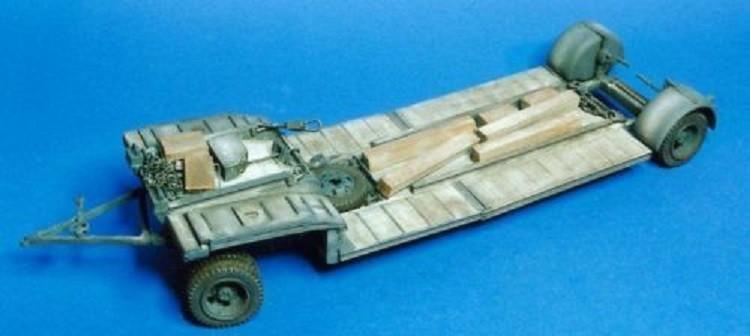 Sd.Ah. 115 Sd.Anh. 115 10t Panzertransporter Deutsche Wehrmacht