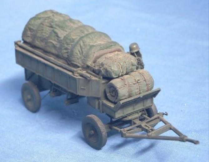 Stahlfeldwagen HF 7 für motorisierten Zug Deutsche Wehrmacht