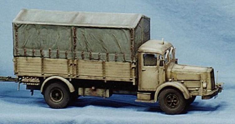 Krupp LD 6,5 N242 Schwerer LKW 6,5t Deutsche Wehrmacht
