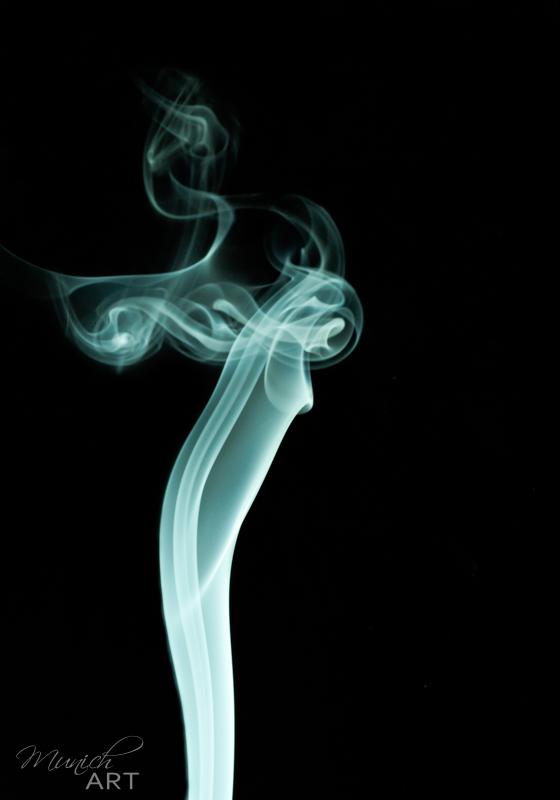 Kunstfotografie München - limitierte und signierte Fotokunst und Wandbilder SmokeArt