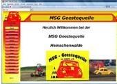 MSG  Geestequelle