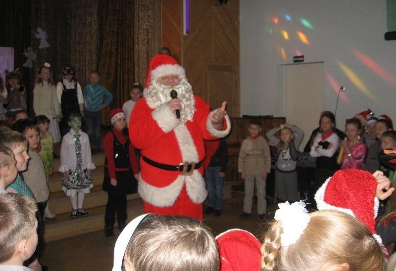 O štai ir Kalėdų senelis:-)