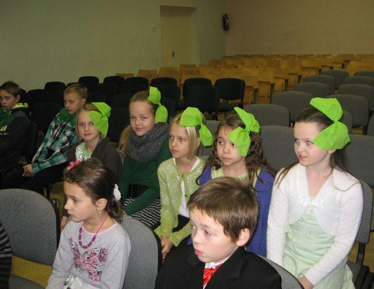 Istorijos pamoka gimnazijos renginių salėje