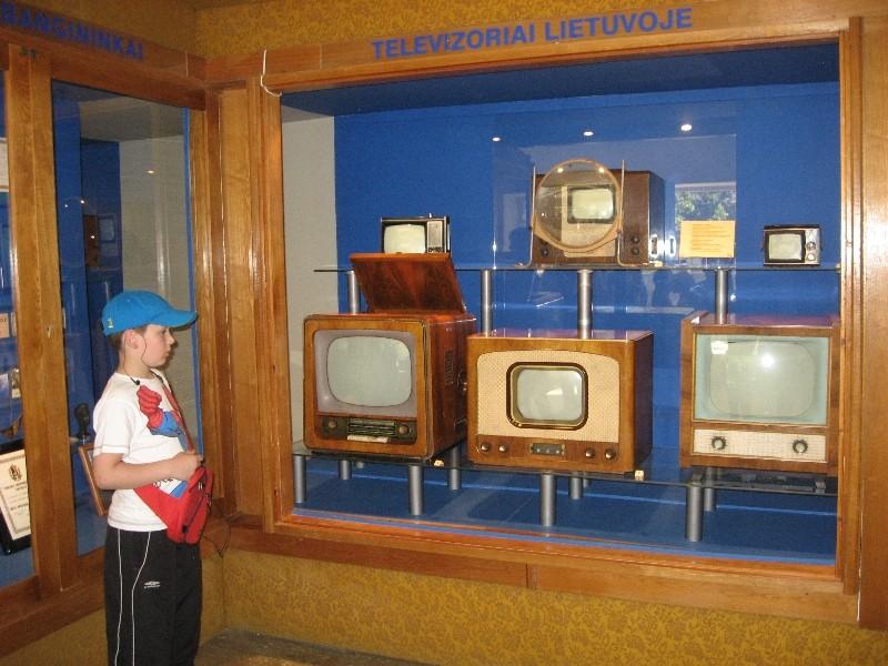Šiaulių radijo ir televizijos muziejuje.