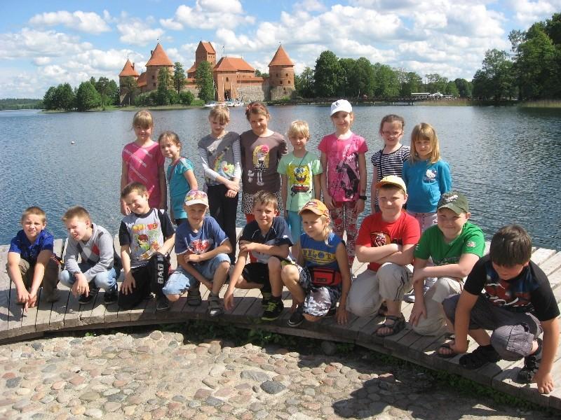 Pasiruošę aplankyti Trakų pilį!