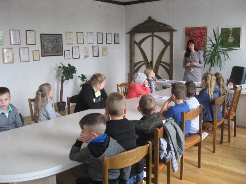 Apie seniūniją pasakoja Lina Varnauskienė