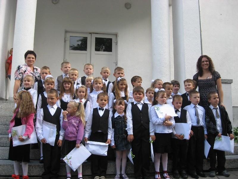 Visi Lukšių Vinco Grybo gimnazijos pirmokai