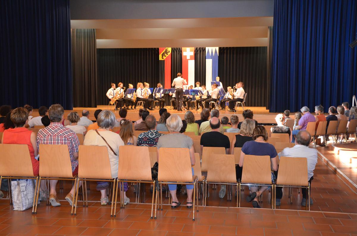 Jugendmusik im Lötschbergsaal
