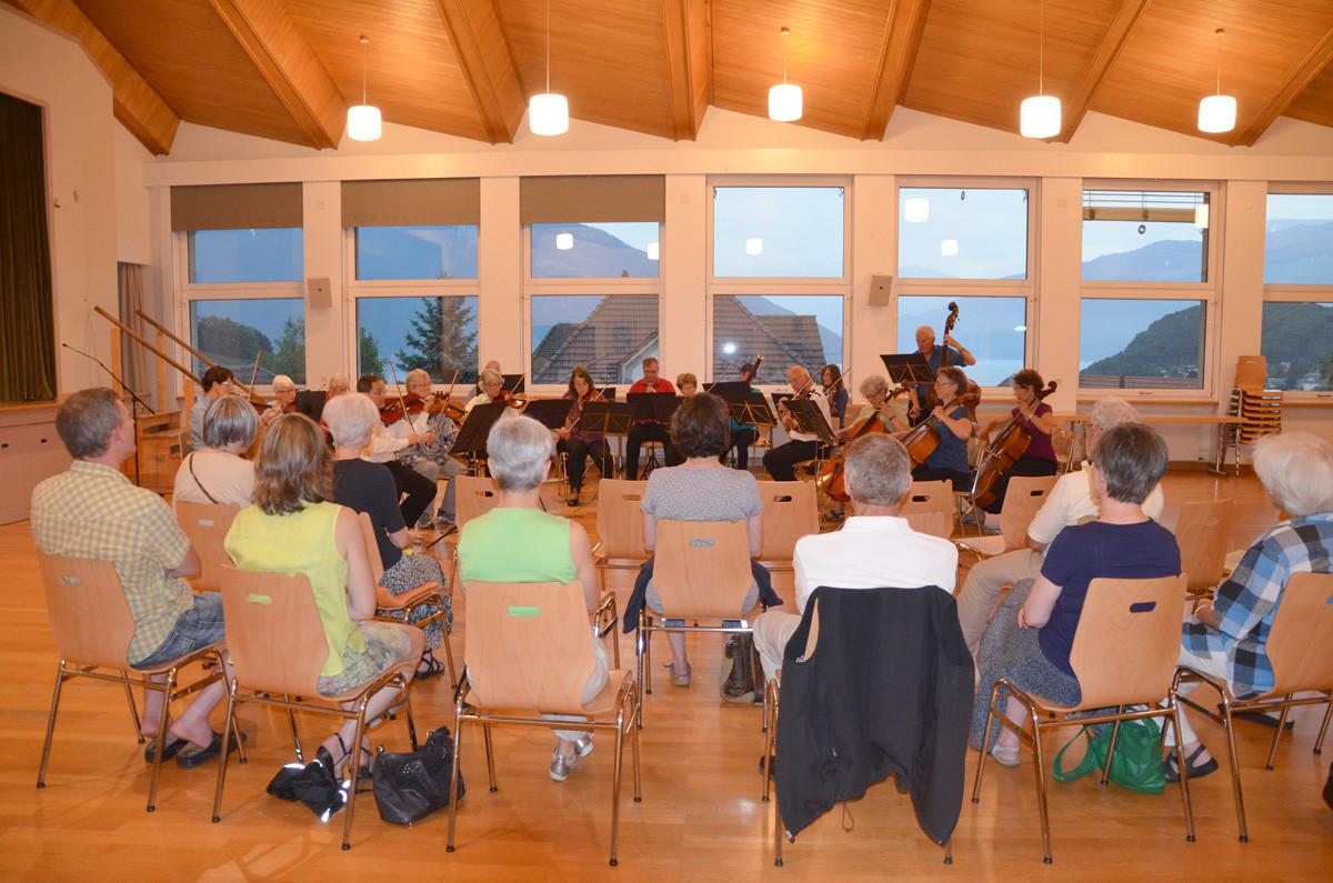 Orchester Spiez im Kirchgemeindehaus