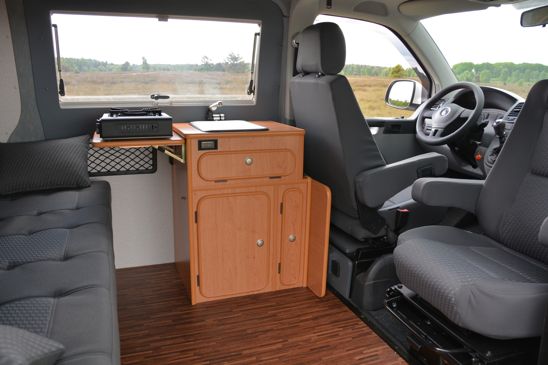 Küchenblock Design Erle Oder Puntinella Anthrazit   Reisemobile Jesteburg