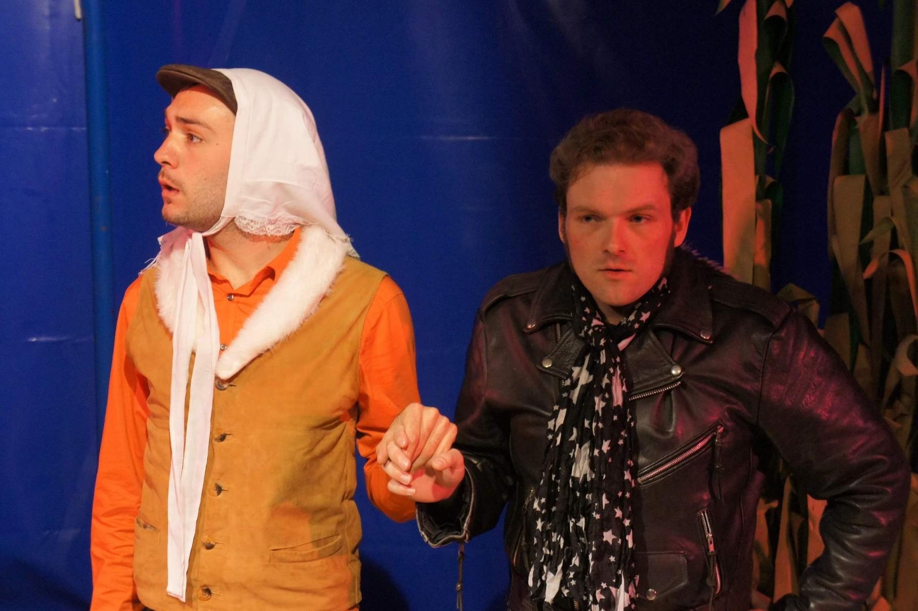 Nur ein Tag - Martin Baltscheit - Celia Endlicher - Theaterei Herrlingen