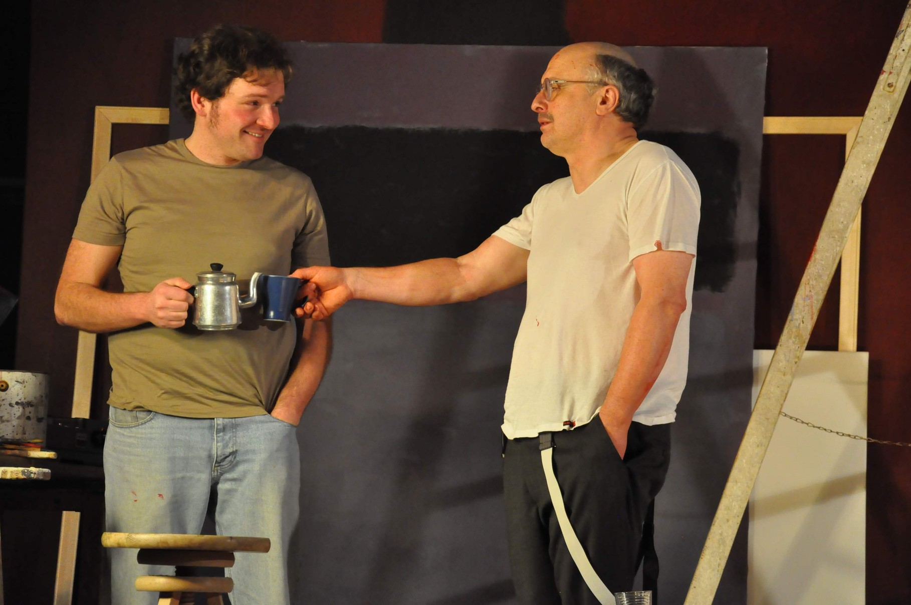 Rot - John Logan - Ralf Rainer Reimann - Theaterei Herrlingen
