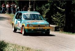 Francis KLINGER - 205 Rallye GrN