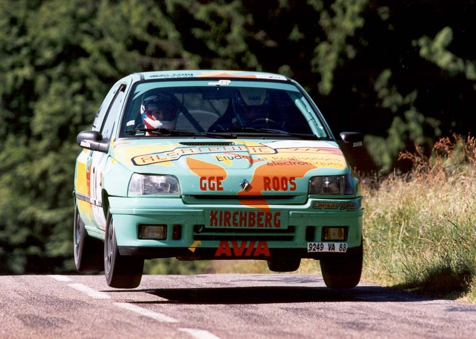 Bertrand ROOS - Clio Williams GrN