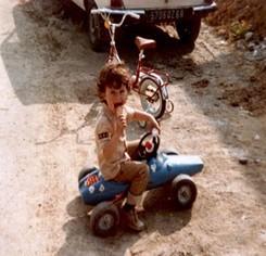 1979 - première voiture de course