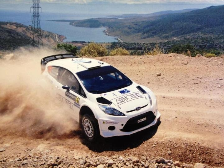 Spyros PAVLIDES - Fiesta WRC