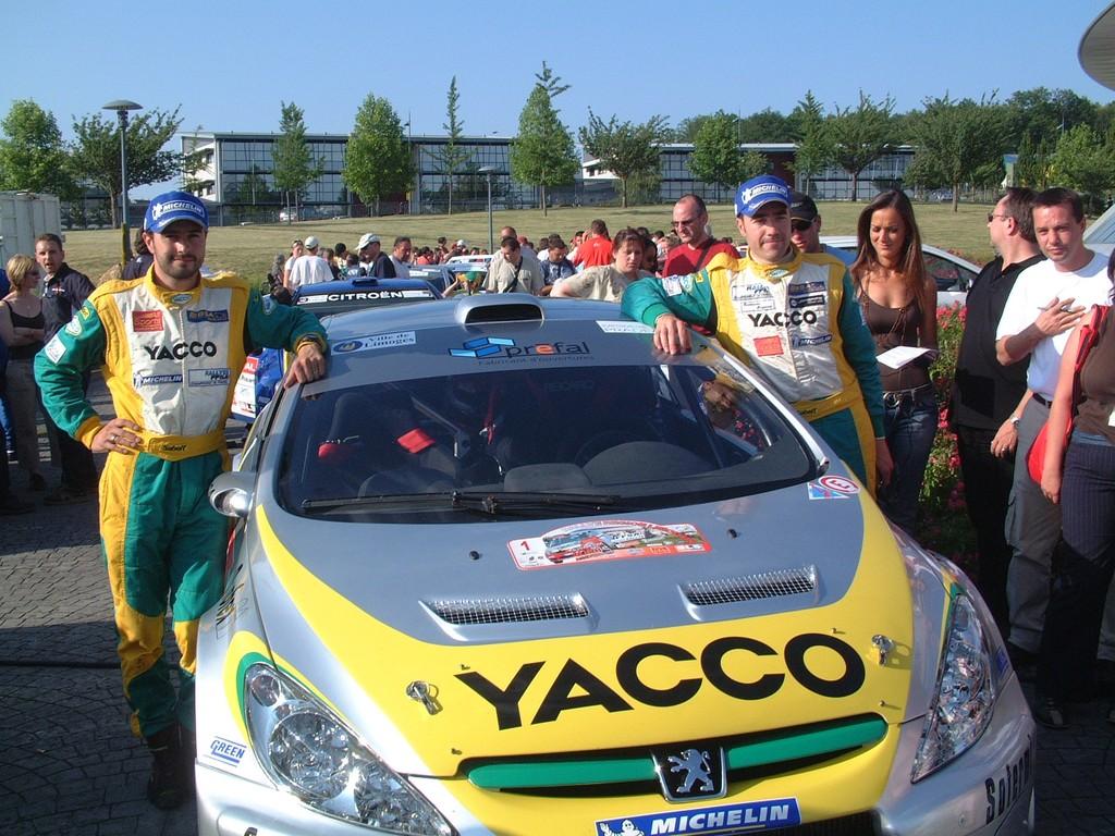 Nicolas VOUILLOZ - 307 WRC