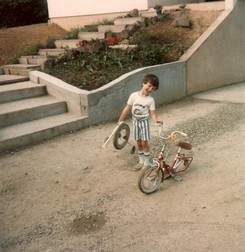1980 - première touchette... roue arrachée
