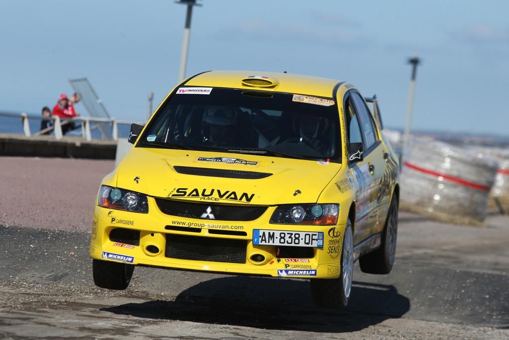 Franck LIONS - Mitsubishi Evo IX GrN