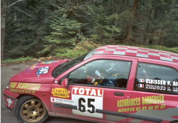 Philippe ELBISSER - Clio Williams GrN