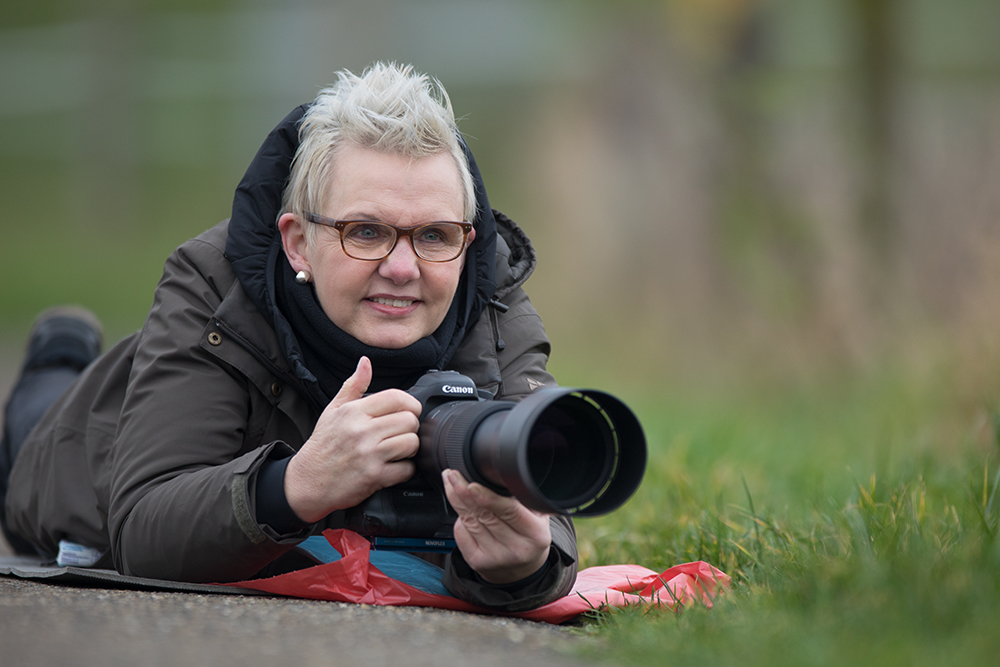 Teilnnehmerin Fototour