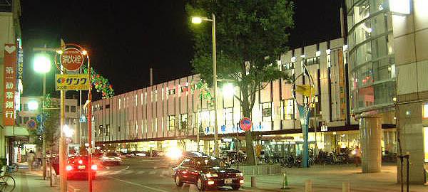 JR小山駅の夜景