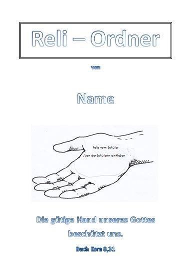Reli Ordner   Religions Ordner für inklusiven