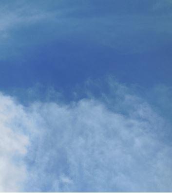 "Gott nannte dieses Schalenförmige ""Himmel""."