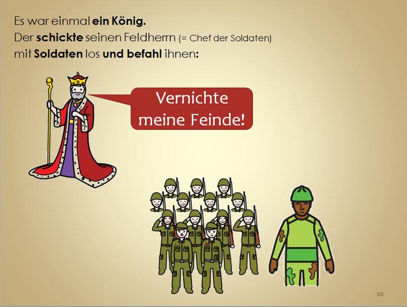 Der Befehl der Königs