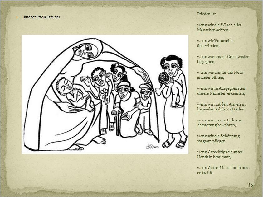 Die Weihnachtsgeschichte nach Lukas mit Gebärden und leichter Sprache